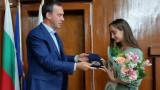 Стефани Кирякова с признание от родния Бургас след световната титла