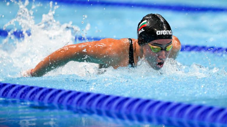 Диана Петкова приключи участието си в Токио