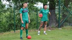Иван Бандаловски вече тренира с Берое