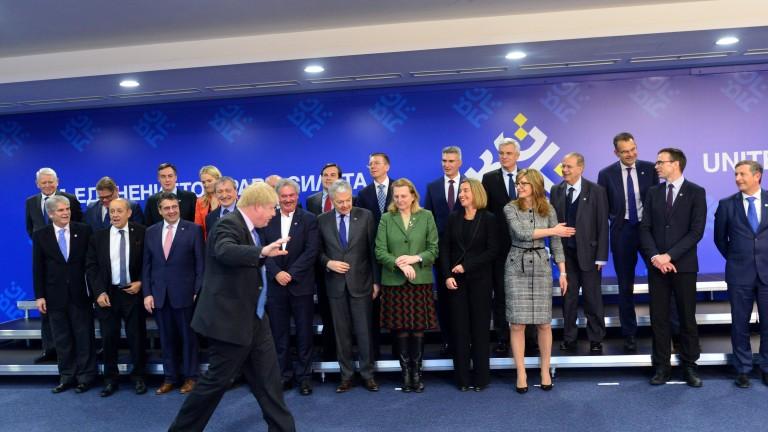 Европейският съюз каза на шестте страни от Западните Балкани, стремящи