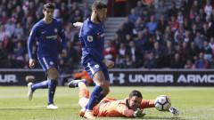 Челси обърна Саутхемптън за 8 минути, Оливие Жиру с два гола