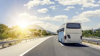 Автобус с българи закъса във Франция