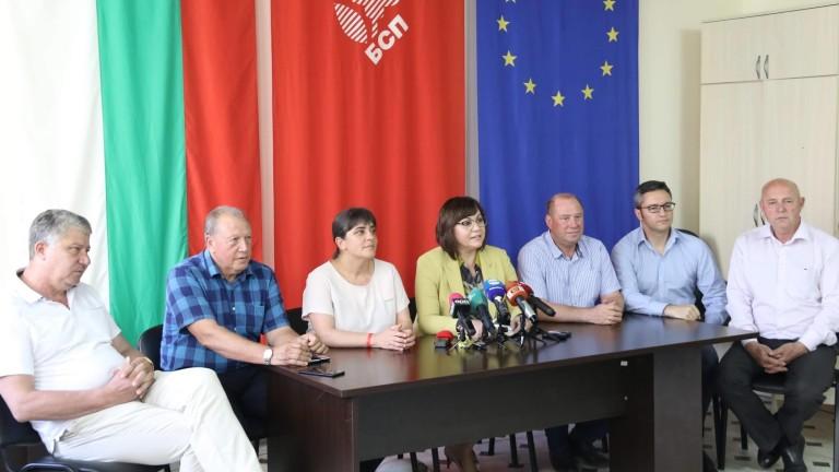 Нинова впечатлена от желанието на Борисов за диалог