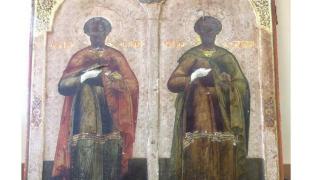 Откриха открадната ценна икона на светите братя Козма и Дамян