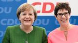 Анегрет Крамп-Каренбауер е фаворитът на Меркел за шеф на християндемократите
