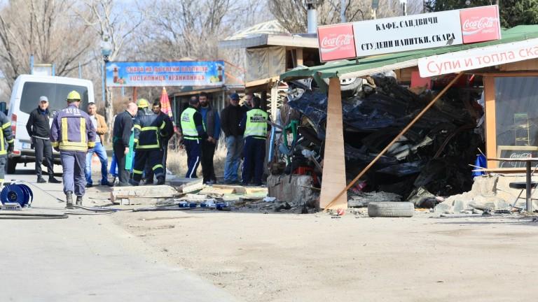 МВР съобщава за тежък пътен инцидент на Околовръстния път на