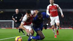 Арсенал загуби защитник до края на февруари