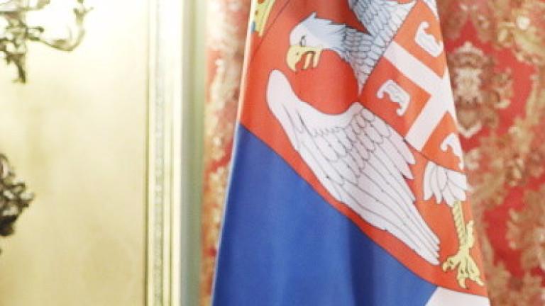 Активист крещи срещу САЩ и НАТО на лекция на американския посланик в Сърбия