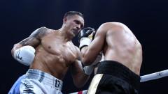 Александър Усик няма да се бие с Дерек Чисора заради контузия