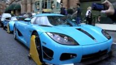 Сложиха скоби на Koenigsegg и Lamborghini