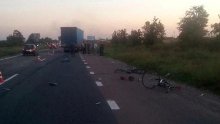 Наш шофьор прегази дете на колело в Украйна