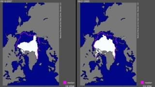Лед, бели мечки и газ