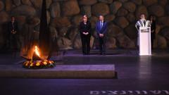 """Германия носи """"вечна отговорност"""" за Холокоста, обяви Меркел в Израел"""