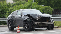 Задържан е шофьор, блъснал пешеходец в Костинброд и избягал