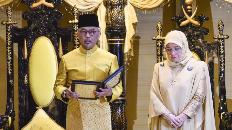 Султан Абдула е избран за нов крал на Малайзия след