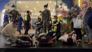 Над 200 ранени при катастрофа в метрото в столицата на Малайзия