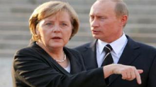 Срещата между Меркел и Путин премина доста студено