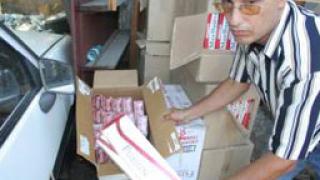 Над 1000 кутии контрабандни цигари конфискуваха в Хасковско