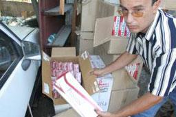 Над 1200 кутии цигари без бандерол откриха у перничанин
