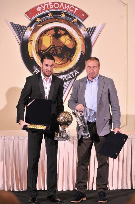 Ивелин Попов е Футболист №1 на България за 2015 година!
