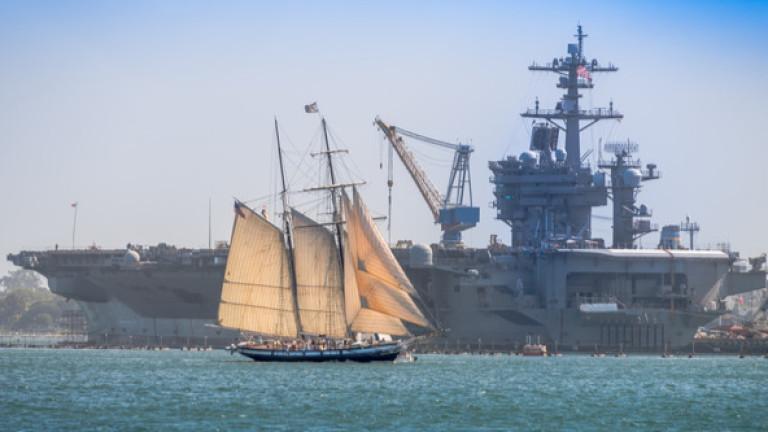 Военноморските сили на САЩ искат да намалят броя на самолетоносачите