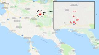 Серия от земетресения в Гърция, 4.5 по Рихтер на Халкидики