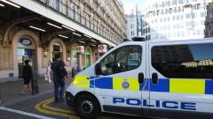 Бомбена заплаха затвори железопътна гара в Лондон