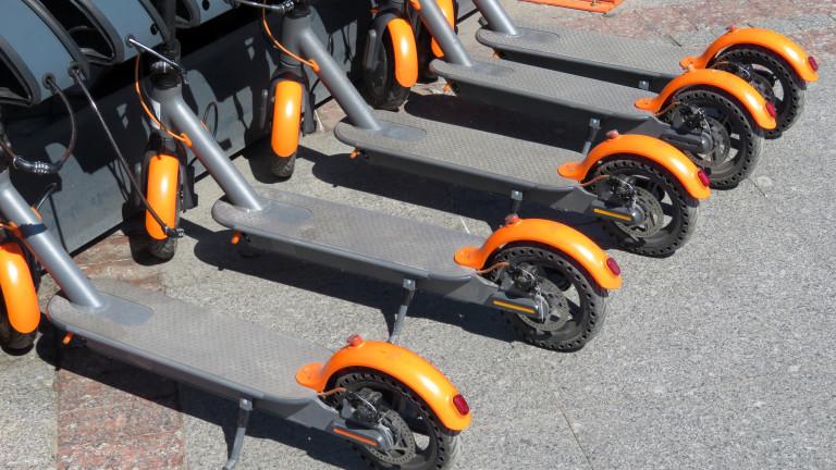 Тротинетките ще се третират като велосипедите