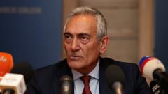 Босът на италианския футбол не е на едно мнение с министрите в страната