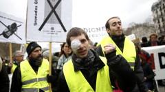 """""""Жълтите жилетки"""" във Франция скочиха срещу полицейското насилие срещу тях"""
