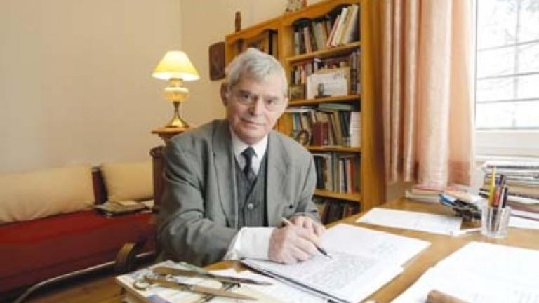 На 81-годишна възраст почина изтъкнатият литературовед,литературен критик, културолог и общественик