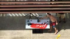 Израелски дипломат вбеси Сингапур, използвал флага на страната като покривка