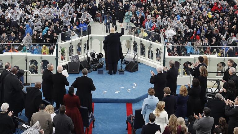 Тръмп обвини медиите, че лъжат за броя на присъствалите на инаугурацията му
