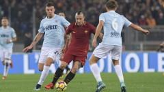 Рома - Лацио 2:1, Имобиле връща гостите в мача!