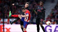 Атлетико (Мадрид) - Арсенал 1:0, Диего Коща откри резултата