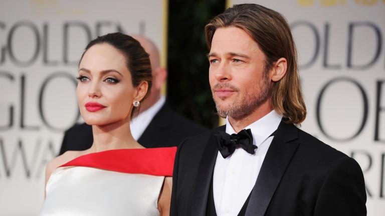 Брад Пит и Анджелина Джоли се разделиха още през2016 г.