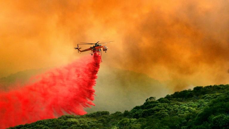 ЕС хвърля авиацията срещу горските пожари