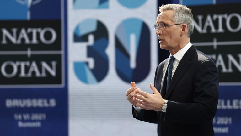 Генералният секретар на НАТО Йенс Столтенберг настоя, че няма нова