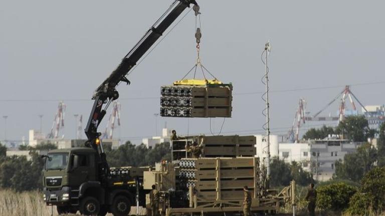 През тази нощ Израел е изпитал противоракетен комплекс с далечен