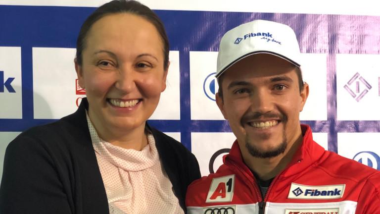 Алберт Попов ще стиска палци на българите на Световното по шорттрек