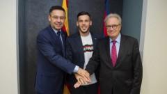 Барселона поднови договора на млад талант