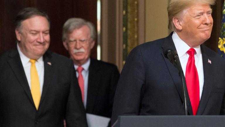 Президентът на САЩ Доналд Тръмп искаше да заплаши лидерите на