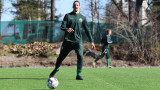 Ибрахимович си намери отбор, с който да провежда нормални тренировки