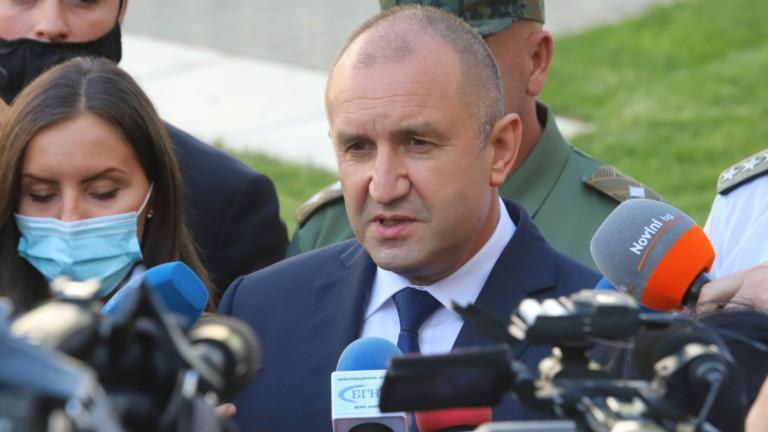 Румен Радев очаква ясна заявка за съдебна реформа