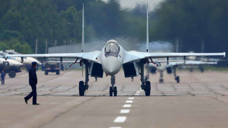 Руски Су-35 прихвана турски изтребител Ф-16 в Северна Сирия