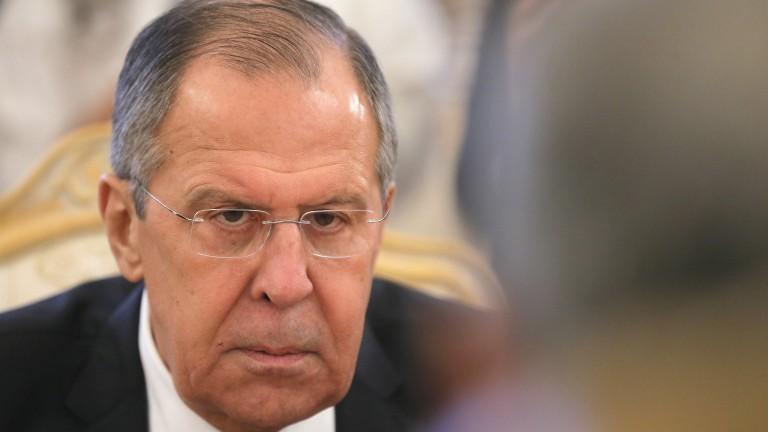 Министърът на външните работи на Русия Сергей Лавров обвини САЩ