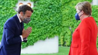 Меркел и Макрон обсъдиха ЕС, САЩ, Русия, Китай, НАТО и новите COVID варианти