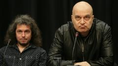 Слави пуска сваленото шоу на пресконференцията днес