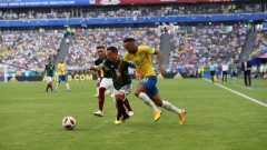 Неймар стана Играч на мача Бразилия - Мексико