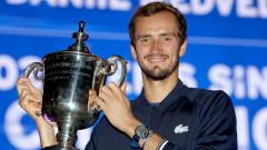 Медведев изпепели мечтата на Джокович